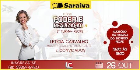 CURSO PODER E REALIZAÇÃO - 3ª TURMA ingressos