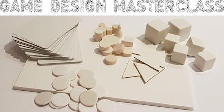 Game Design Masterclass tickets