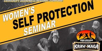 Women's Self Protection Seminar October 25th