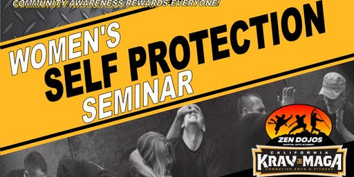 Women's Self Protection Seminar October 25th