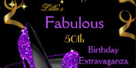 50th Birthday Extravaganza  tickets