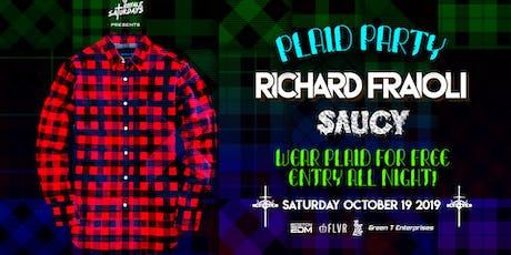 Plaid Party | Royale Saturdays | 10.19.19 | 10:00 PM | 21+ tickets