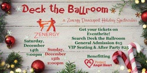 Deck the Ballroom - A Zenergy Dancesport Holiday Spectacular