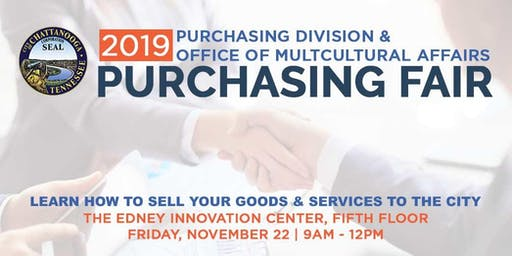 2019 City of Chattanooga Purchasing Fair