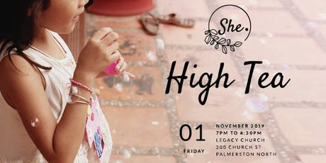 She. High Tea tickets
