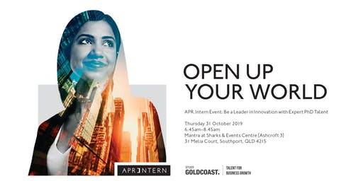 APR.Intern Event: Be a Leader in Innovation with Expert PhD Talent