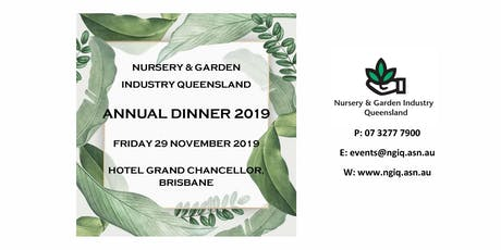 NGIQ Annual Dinner 2019 tickets