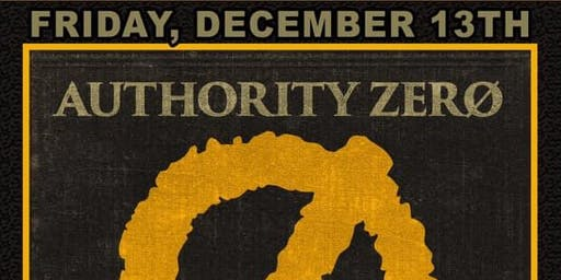 Authority Zero 25 Year Tour with Vampirates and Cutiepie