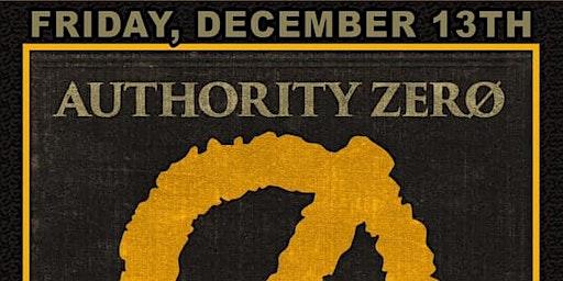 Authority Zero 25 Year Tour with Vampirates and Cutiepie