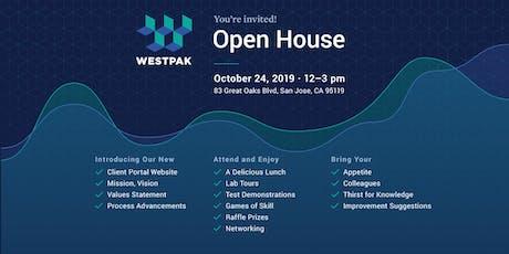 Open House - WESTPAK San Jose Test Lab | Thurs, Oct 24 tickets