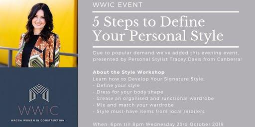 Evening WWIC Style Workshop