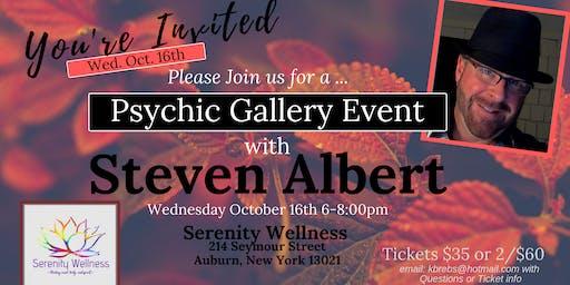 Steven Albert: Psychic Gallery Event - Serenity 10-16