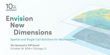 10x Genomics VIP Event-October 19, 2019-Chicago  tickets