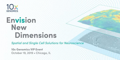 10x Genomics VIP Event-October 19, 2019-Chicago