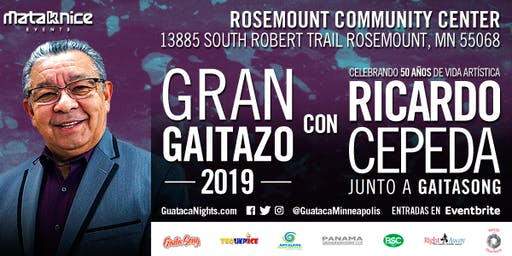 EL GAITAZO 2019 con RICARDO CEPEDA en Minneapolis