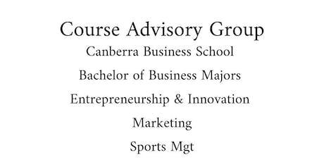 CBS -Bachelor of Business Course Advisory Group Sem 2, 2019 tickets