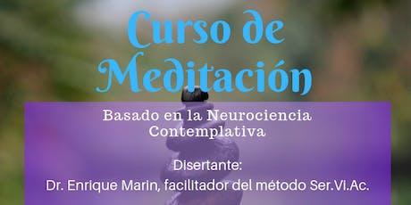 Curso de Meditacion entradas