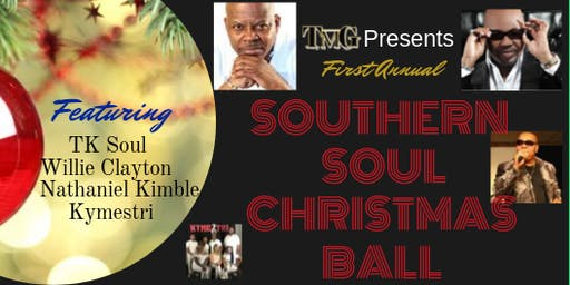 1st Annual Southern Soul Christmas Ball @Club Paradise