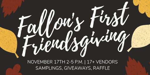 Fallon's First Friendsgiving