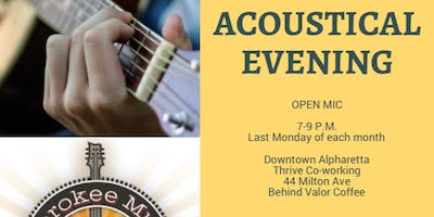 Acoustical Evening: Open Mic