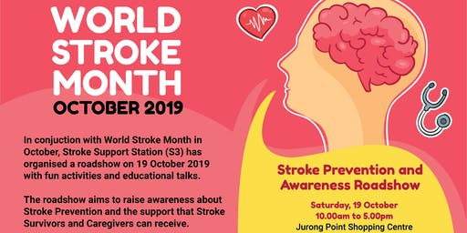 World Stroke Day Roadshow by Stroke Support Station