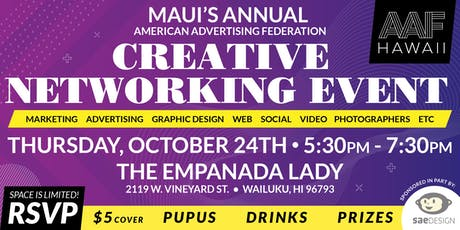 Maui Creative Networking Event tickets