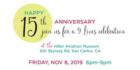 15-Year Anniversary Celebration tickets