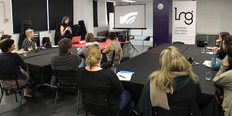 LRG TEACHERS NETWORK: Arts teachers meeting tickets