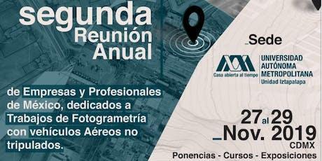 2da REUNIÓN DRONES FOTOGRAMETRÍA PRO tickets