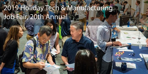 2019 Holiday Tech & Manufacturing Job Fair - Exhibitor Registration and Sponsorship