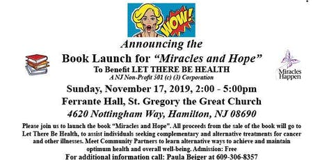 Hope and Miracles Book Launch tickets