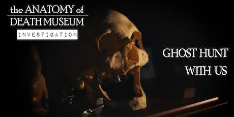 (PUBLIC INVESTIGATION) Mystic Mitten Presents: the Anatomy of Death Museum tickets