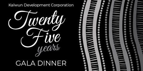 Kalwun 25 year Celebration Gala Dinner tickets
