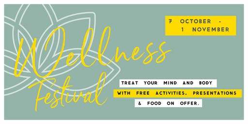 Wellness Festival at The Underground - Myall Wellbeing