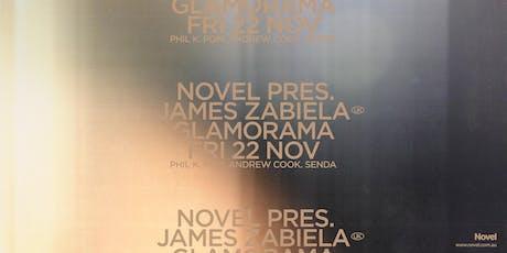 Novel pres. James Zabiela tickets