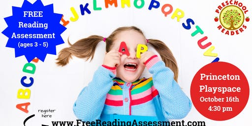 Ages 3 - 5, Free Reading Assessment