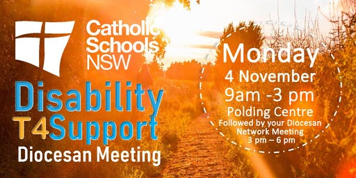 CSNSW Term 4 Disability Support - Diocesan