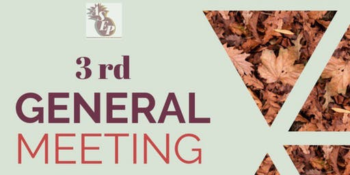 ASEP 3rd General Meeting