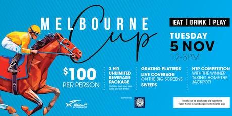 X-Golf Enoggera Melbourne Cup tickets