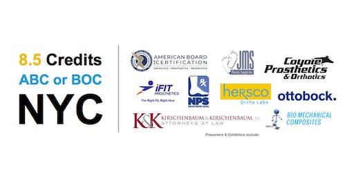 ABC & BOC Education Credits @ NYC October 2019