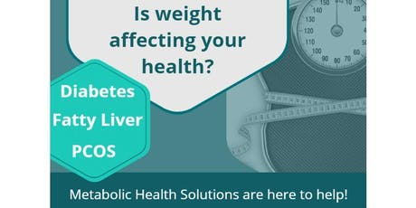 Successful Weight Management - The Role of Metabolic Health tickets