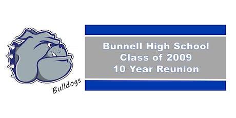 Bunnell High School 09' Reunion tickets