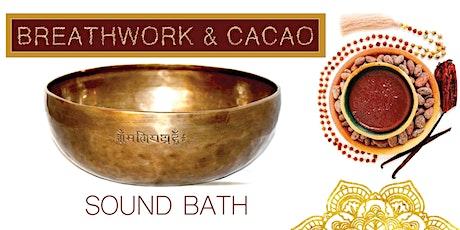 Breathwork & Cacao Sound Bath tickets