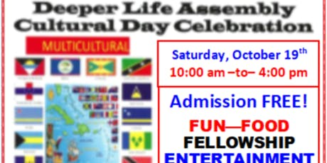 Deeper Life Assembly Cultural Day Celebration tickets