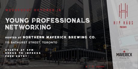 Young Professionals Networking by The Hip Haus - Oct 16th, 2019 tickets