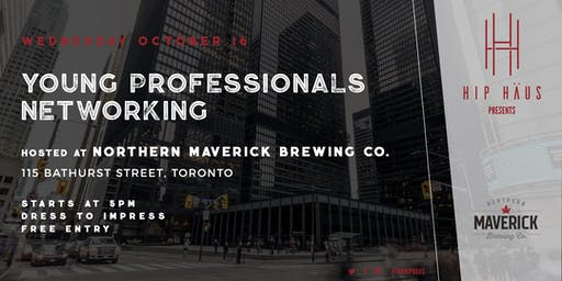 Young Professionals Networking by The Hip Haus - Oct 16th, 2019