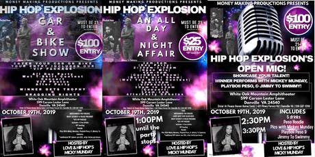 Hip Hip Explosion - Ft. Mickey Munday, Playboii Peso, and Jimmy To Swimmy tickets
