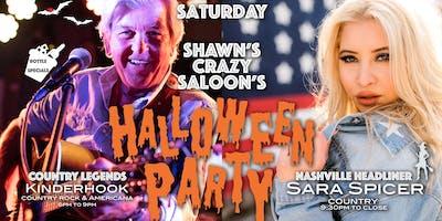 Country Halloween Party with Nashville Headliner Sara Spicer & Kinderhook