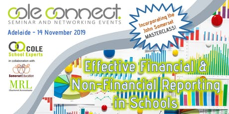Cole Connect Seminar - Effective Reporting in Schools + MASTERCLASS! tickets