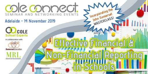 Cole Connect Seminar - Effective Reporting in Schools + MASTERCLASS!